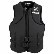 Yamaha Value Neoprene 2-Buckle PFD Life Vest Black
