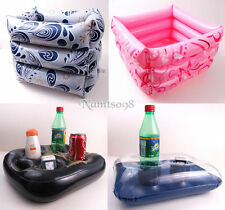 Inflatable float Storage Organizer Box Holder/Swimming Pool Party/Beer Bottle