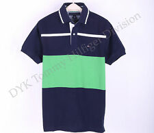 Tommy Hilfiger Men Pique Mesh Polo Shirt Short Sleeve Custom Fit - Free $0 Ship