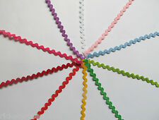 Mini Ric Rac Trim 6mm per 3 METRES 5 Widths in My Shop Small Baby 4mm Braid