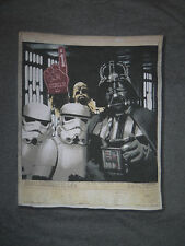 Star Wars T-Shirt Darth Vader Storm Troopers 80's Tee 70's DVD Dark Side Rebels