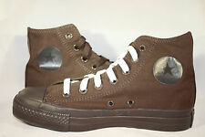 MEN'S Converse Chuck Taylor ALL STAR Chocolate Brown Mono Hi 2 pair of laces