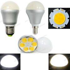 Wholesale AC 220V-240V E27/E14 6W 6X1W COB Led Bulb Spotlight Lamp w/Opal Cover