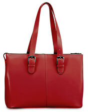 Jack Georges Milano Madison Avenue Leather Business Tote for Laptop