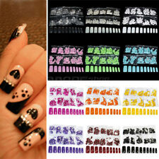 500 French Style Acrylic Artificial Full False Nail Art Tips Hot Selling