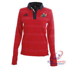 Adidas Munster Home Ladies Replica Long Sleeved Rugby Jersey (O58986) rrp£45