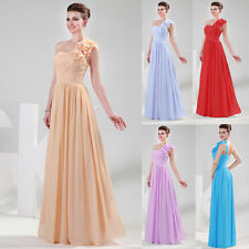 GK Sexy Bridesmaid Long Ball Prom Birthday Gown Women Party Formal Evening Dress