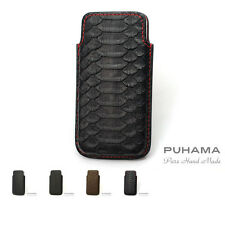 PUHAMA HA30 Custom Hand Made Python Leather case for Apple iPhone 5 / 5S