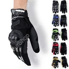 Racing Motorcycle Motorbike Motocross Cycling Dirt Bike Full Finger Glove A016 K