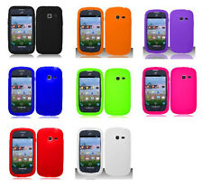 Rubber SILICONE Skin Soft Gel Case Phone Cover for Samsung Galaxy Centura S738c