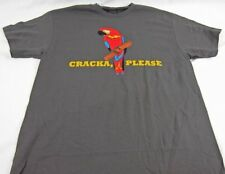 Mens NEW Busted Tees Cracka Please Parrot Logo Graphic T-Shirt Size S M XL