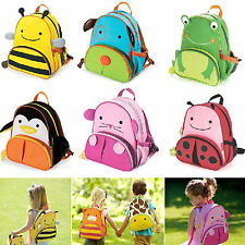 Boys Girls Kids Baby Zoo Animal Backpack Schoolbag Toddler Bag Rucksack Backpack