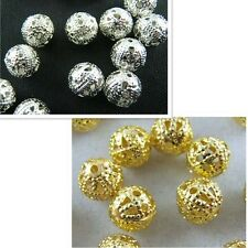 Hot selling Silver/Gold Plated Spacer Findings Loose Beads Charms