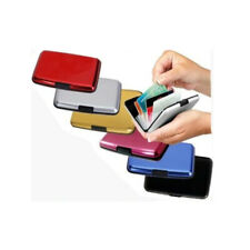 Aluminium CREDIT CARD HOLDER WALLET CASE PURSE METAL BUSINESS CARD PROTECTOR