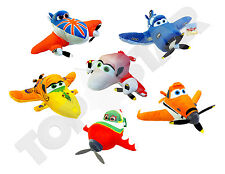 "Disney Pixar Planes Plush Soft Cuddly Toys 10"" Dusty Skipper NEW"