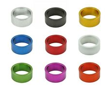 """BICYCLE ALLOY 1-1/8"""" (28.6mm) THREADLESS HEADSET SPACER 15MM CYCLING BIKES NEW!"""