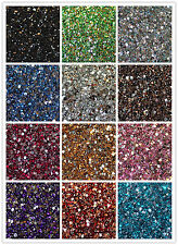 Crystal Flat Back Acrylic Rhinestones Gems 15 colors 2mm, 3mm, 4mm, 5mm 6mm