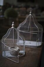 Chicken Wire Wall Cage Shelf Rustic Finish