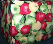 Apple Harvest Quilted Fabric 2-Slice or 4-Slice Toaster Cover NEW