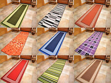 New Short Very Long Machine Washable Non-Slip Hall Floor Runners Mats Rug Cheap