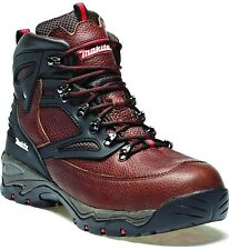NEW MAKITA XPT SAFETY STEEL TOE CAP & MIDSOLE WORK BOOTS BROWN SIZE UK 6-12