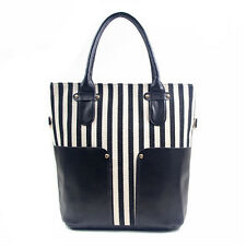 Hot Sale! 2013 Newest Women's Girl Striped canvas Casual Handbags Totes Bag, H22