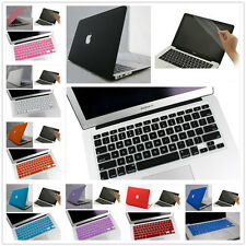 "3in1 8 Color Rubberized Hard Case For Macbook AIR 13""/13.3inch A1369 and A1466"