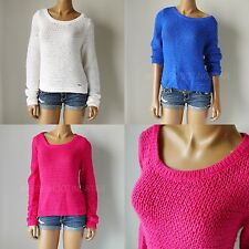 "NWT ABERCROMBIE & FITCH ANF WOMENS ""Elaine"" Super Soft Easy Fit Alpaca Sweater"