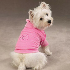 Zack & Zoey LUXURY COUTURE Velour Dog Hoodie PINK BLUE SALE  Sizes Limited!