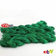 5/25pcs MultiColor Cotton Thread Wire Rope String Fit Weave Jewelry Bracelet