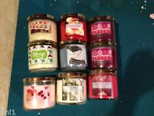 Bath & Body Works Slatkin 14.5 oz. 3-wick Candle - You Pick Scent
