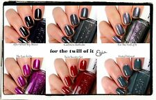 "ESSIE FALL 2013 COLLECTION ""FOR THE TWILL OF IT"" ***6 SHADES AVAILABLE***"
