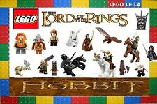 LEGO THE HOBBIT & LORD OF THE RINGS 90 DIFFERENT MINI FIGURES BRAND NEW 2013