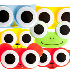 Animal Contact Lens Case Owl Frog Chicken Different Colours Eye Accessory Gift