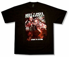"""WWE WRESTLING """"HELL IN A CELL 2012"""" BLACK T-SHIRT RYBACK VS CM PUNK NEW OFFICIAL"""