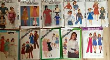 PICK A GIRLS Size 14 paper sewing pattern all are vintage 1977-1982 cut or uncut