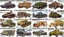 Tamiya - 1/35 WWII Tanks & Military Vehicles