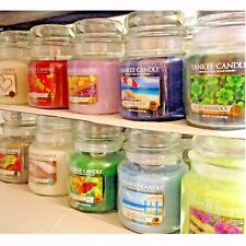 (L-Z Scent Choices) Yankee Candle 14.5 oz MEDIUM JAR CANDLES Variety + Halloween