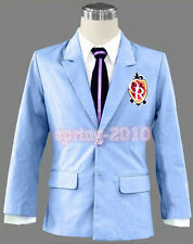 Ouran High School Host Club Jacket cosplay halloween shirt tie coat costume