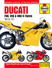 Ducati 748 S 2000-2001 (0748 CC) - Haynes Workshop Manual