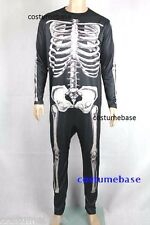Donnie Darko Skeleton Suit Party Adult Costume Fancy Dress Halloween Jumpsuit