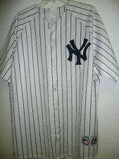 MAJESTIC New York Yankees ROGER CLEMENS SEWN Baseball Jersey WHITE ANY SIZE