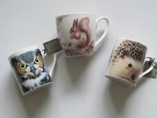 SELECTION OF LARGE DRINKING MUGS - DOGS AND CATS