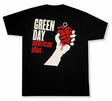 """GREEN DAY """"AMERICAN IDIOT"""" BLACK T-SHIRT NEW OFFICIAL ADULT NWT HEART GRENADE"""