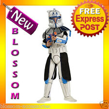 CK10 Boys Star Wars Animated Deluxe Clone Trooper Leader Rex Fancy Child Costume