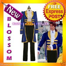 I28 Deluxe Mens Royal Prince Charming Storybook Fancy Dress Fairy Tales Costume