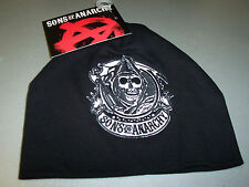 SONS OF ANARCHY CIRCLE REAPER EMBROIDERED PATCH BABY BEANIE SKULL CAP NEW !