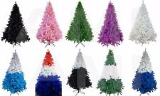 SALE 7ft TOP QUALITY ARTIFICIAL COLOURED CHRISTMAS TREES! 12 COLOURS