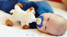 Paci-Plushies® Animals Baby Pacifier Holder U Pick Animal