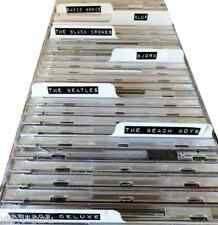 White CD Dividers Any Quantity  (For Box Storage)